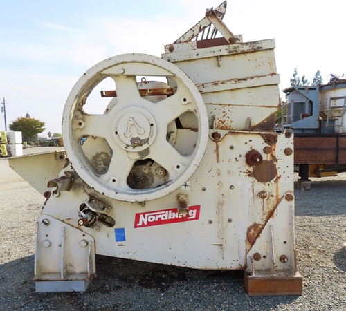 30 x 55 in Metso Nordberg jaw crusher