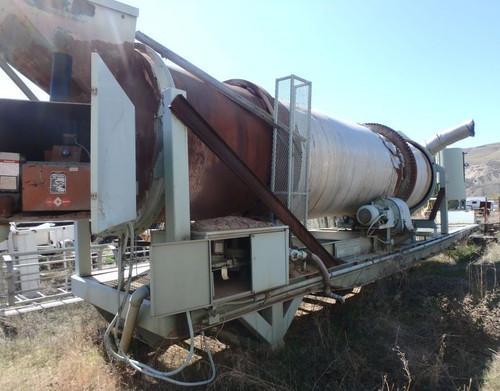 6 x 25 ft EDW Renneburg rotary dryer