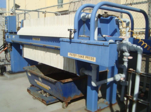 1000mm US Filter Plate and Frame Filter Press