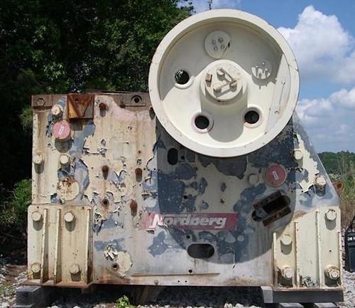 42 x 55 in Metso C140 jaw crusher