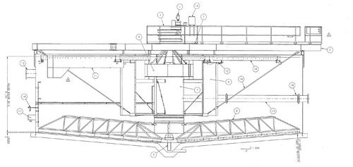 55 ft Unused WesTech Clarifier