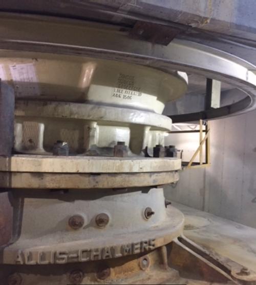 42 x 65 in Allis Chalmers Superior Gyratory Crusher, Mark I