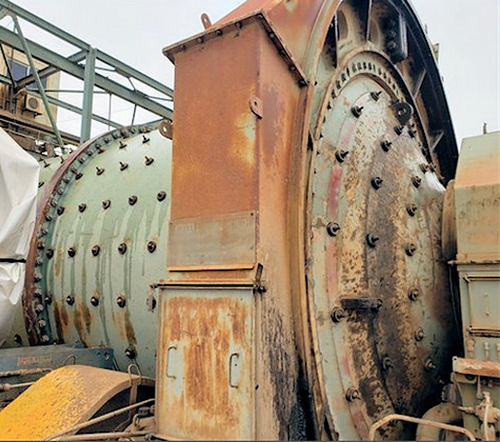20 x 10 ft (6.1 x 3.05 m) ANI FLSmidth SAG Mill with 2,500 HP