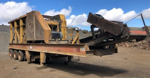 30 x 42 in Minyu Mobile Jaw Crusher Plant