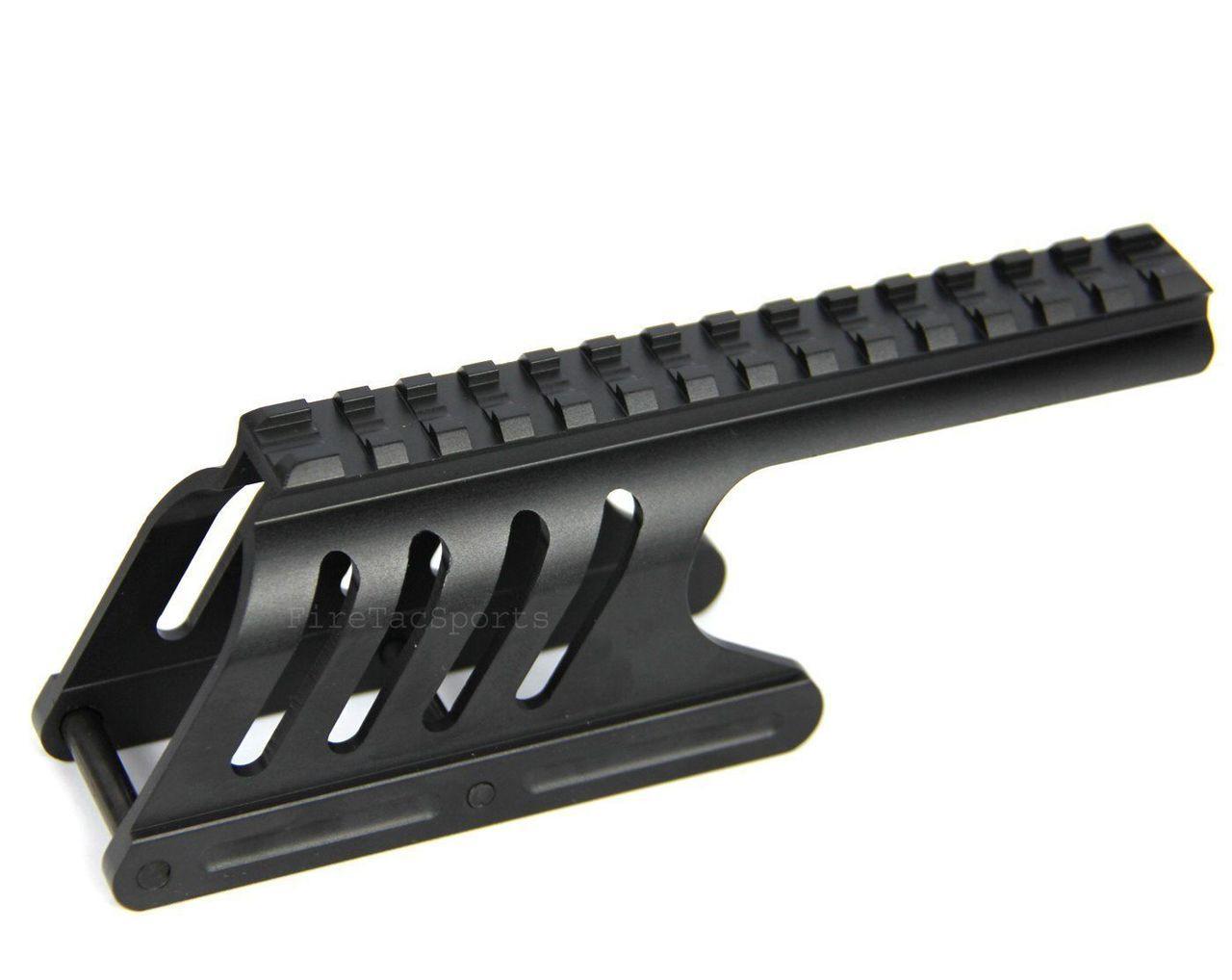 Remington 870 12 GA Saddle Tactical Scope Sight Rail shotgun Mount