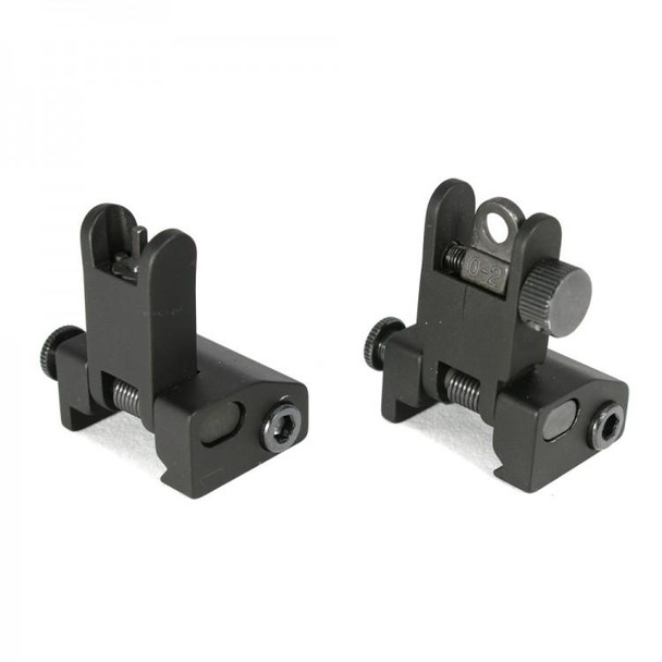 Front and Rear Flip Up Iron Sight AR15 223 5.56