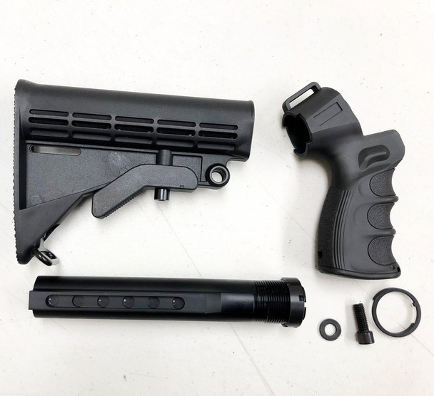 Mossberg 500 Maverick 88 6-postion Adjustable stock Pistol Grip (ACC-M500kit-1)