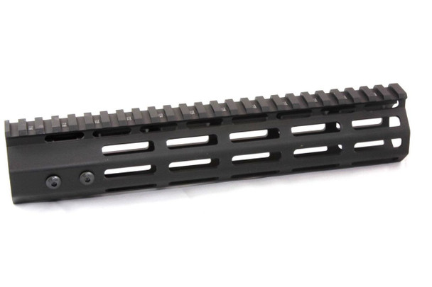 "10"" ULTRA-LIGHT Super Slim 7-sided MLOK Handguard Free Float AR15 223 5.56"