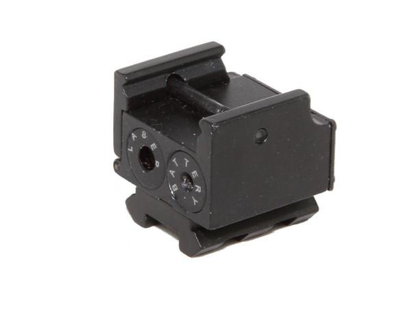 Pistol Mini Red Laser sight Low Profile for SUBCOMPACT pistol w/ Strobe Feature