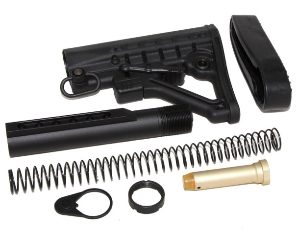 STOCK KIT BUFFER TUBE 6-POSITION KIT MIL SPEC FOR CARBINE STOCK AR15 223 5.56 4