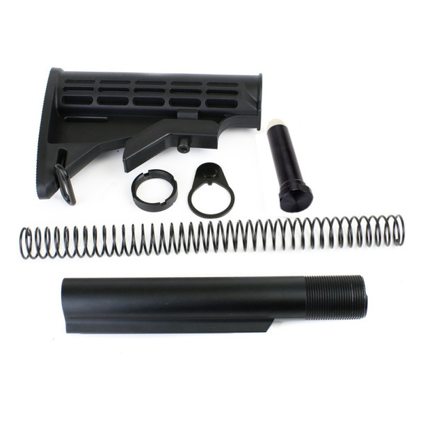 CARBINE BUFFER TUBE KIT 6-POSITION M4 STOCK MILSPEC  AR15 223 5.56 (OSTK)