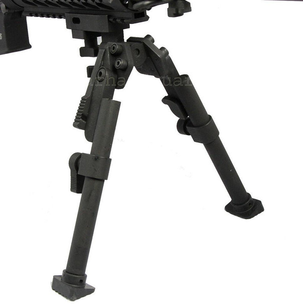 "Premium Heavy Duty Bipod Picatinny Rail Mount 8"" to 11"" Inch Aluminum"