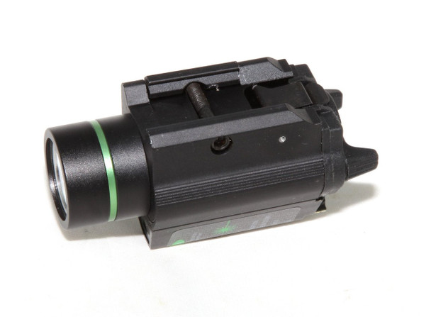 Pistol Strobe Green Laser Sight + CREE Flashlight 250 lumens