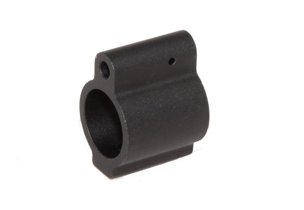 "Gas Block .75"" Gas Block Mini Low Profile Micro-Black for .223/.556 7.62X39 300 Blackout"