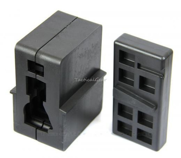 Upper Receiver/Lower Receiver Vise Block Polymer - Combo  .223 5.56