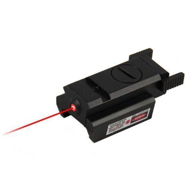 Tactical Pistol Red Laser Low Profile