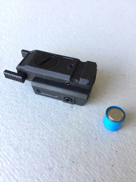 Low Profile red Laser Pistol sight Rail Mount Weaver Picatinny-Polymer