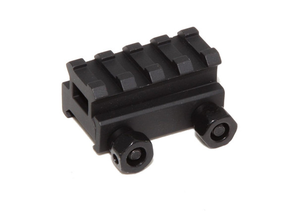 "1"" inch 4 Slot High Riser 20mm WEAVER PICATINNY Rifle Base/Scope Mount AR15 223 5.56, AR15 Handguard"