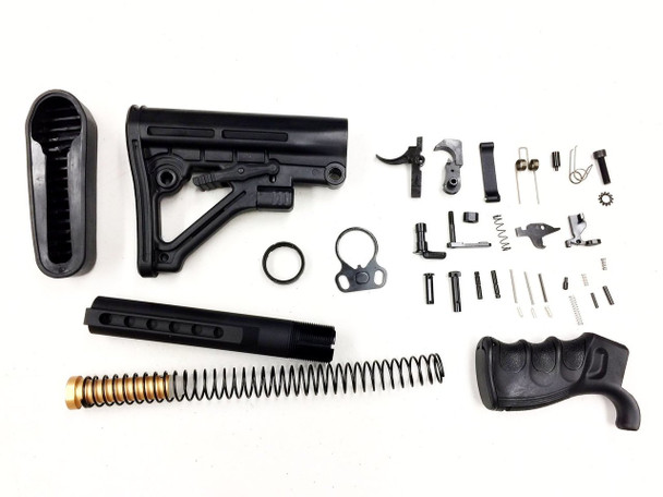 Complete Carbine stock Lower Parts Kit LPK AR15 223/5.56 | AR15 LOWER PART KIT, ar15 LPK