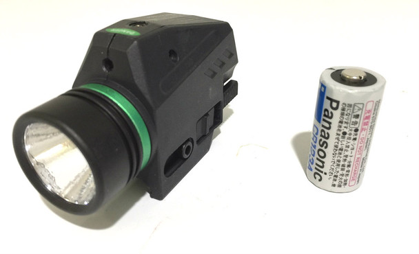 Pistol Green Laser Sight + CREE Flashlight 200 lumens Combo