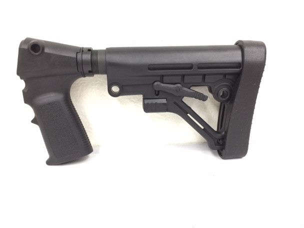 Tactical Stock + Grip For REMINGTON 870 H&R & ATI with W/Recoil Pad