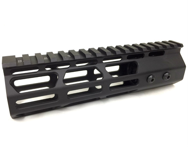 "7"" Slim MLOK Handguard One Piece Free Float AR15 223 5.56"