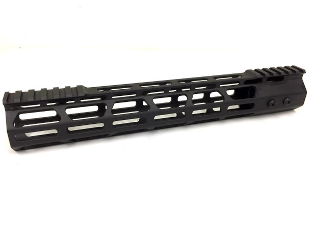"13"" slim MLOK Handguard One Piece Free Float AR15 223 5.56 - top cut"