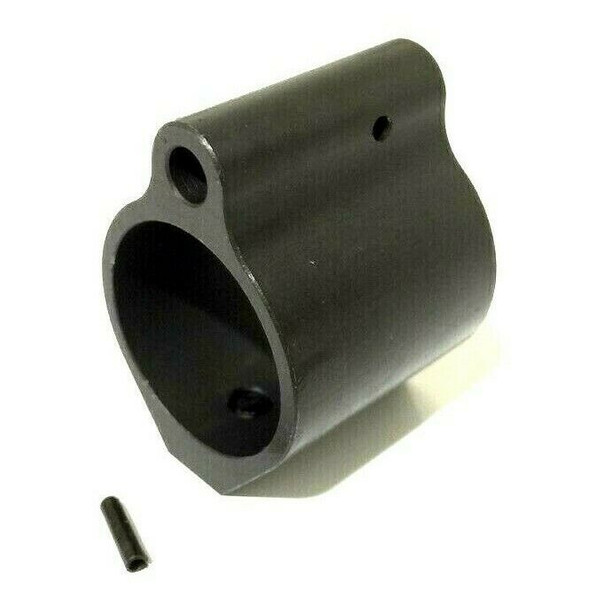 Gas Block .875 Mini Low Profile STEEL Gas Block -Black (875GB)