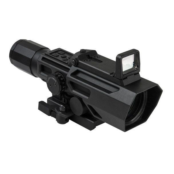 NcSTAR Advance Dual Optic ADO 3X-9X Riflescope w/ Flip Up Red Dot