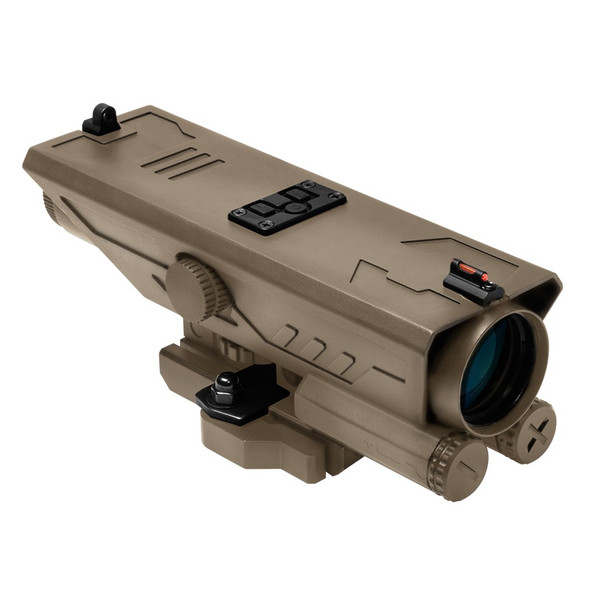 NcStar DELTA 4X30 Scope w/White & Red NAV LED/ VDELP430G-TAN