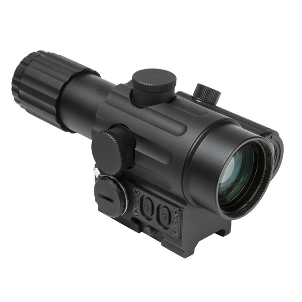 NcStar Dual Urban Optic 4X34mm with Offset Green Dot Rifle Scope - Left Hand