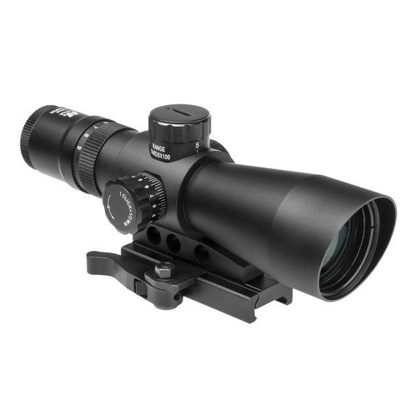 NcStar 3-9x42mm Mark III Tactical Gen II Green Lens Mil-Dot Scope