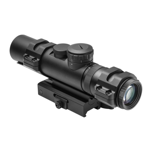 NCSTAR 2-7X32 XRS MODULAR BLUE ILLUMINATED MIL DOT RIFLE SCOPE