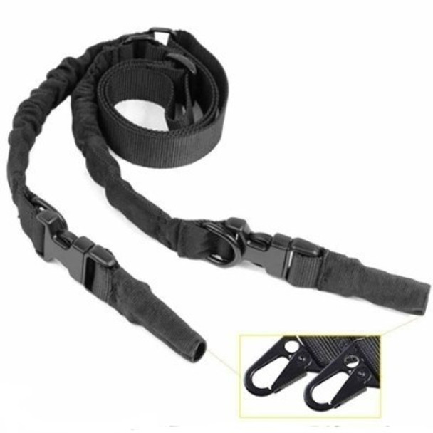 Rifle 1 or 2 Point Bungee Sling - AR15 Rifle Sling