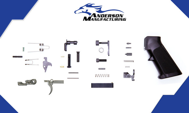 Anderson Manufacturing LPK - Lower Parts Kit with Stainless Steel Hammer & Trigger| AR15 LOWER PART KIT, AR15 LPK