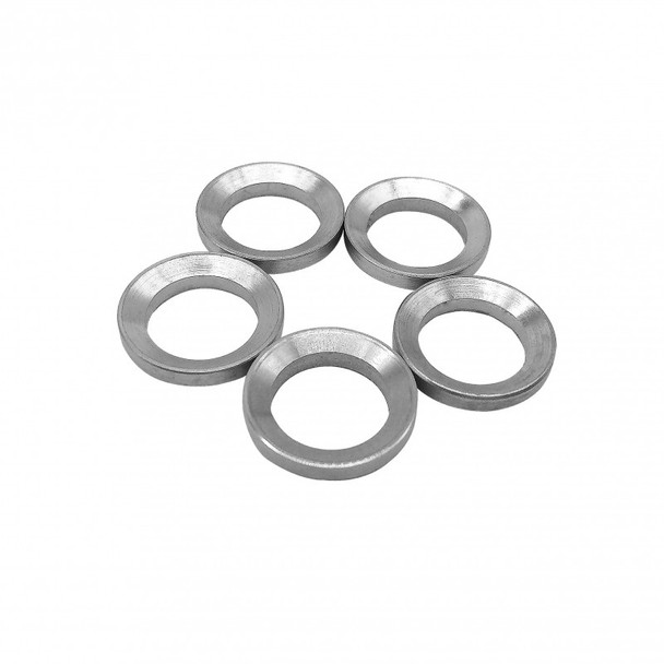 (Pack of 5) 1/2-28 Thread stainless Steel Crush Washer AR15 223