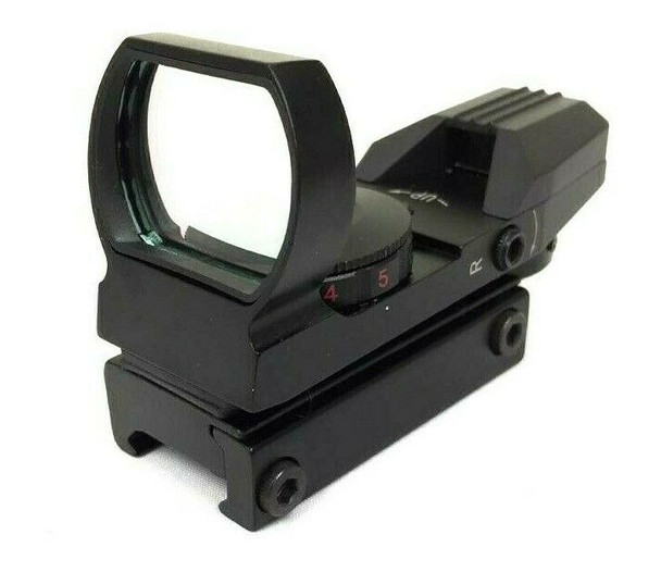 Green Red Dot Sight Holographic Hunting Riflescope Reflex 4 Reticle Tactical Optics Scope