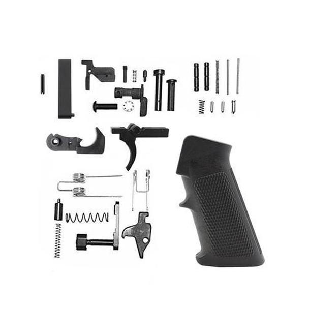 Complete  Lower Parts Kit LPK w/ A2 GRIP - AR15 223/5.56 | AR15 LOWER PART KIT, AR15 LPK