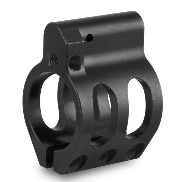 Gas Block - .750 Adjustable Low Profile STEEL Gas Block -Clamp-On AR15
