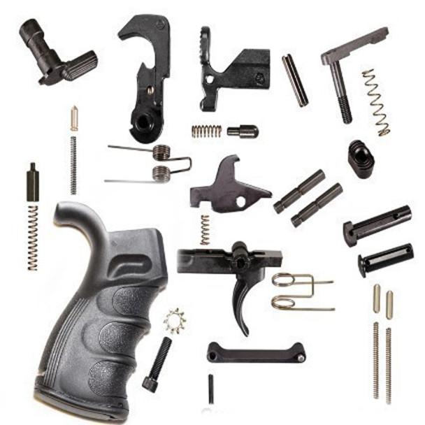 LPK - Complete Lower Parts Kit with Premium grip AR15 223/5.56