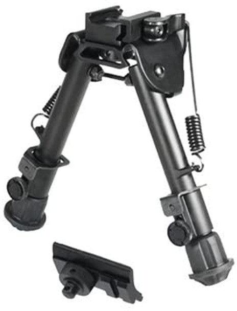 "Adjustable Bipod 9""- 12"" Folding Picatinny Mount"