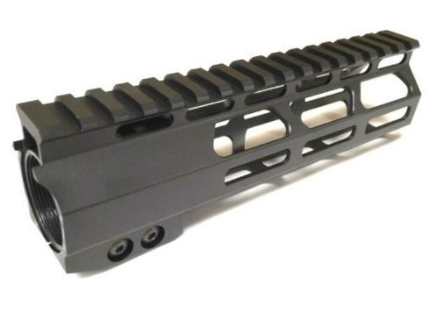 "7"" Super Slim MLok Handguard Free Float Anti-Rotation tab AR15 223 5.56"