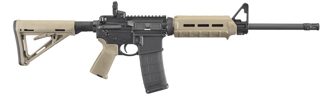 "Ruger Ar-556, 16"", Flat Dark Earth, With Magpul Accessories"