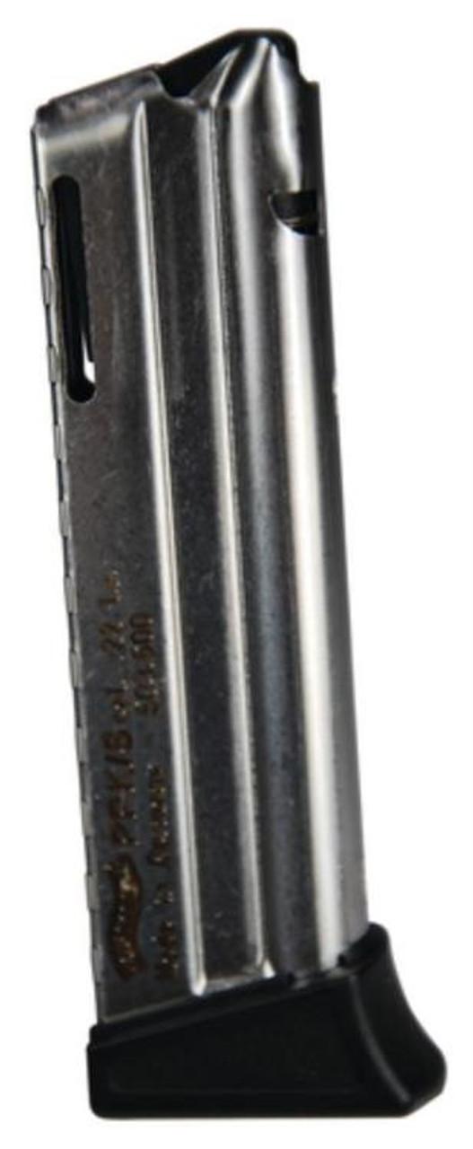Walther PPK//S .22LR 10 Round Magazine W//Finger Rest-Nickel Mag-503600