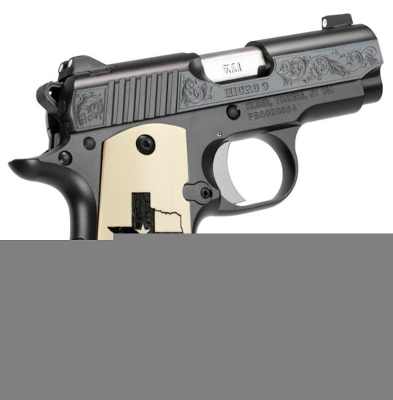 Kimber Micro 9 Texas Limited Edition 9mm High Polished Deep