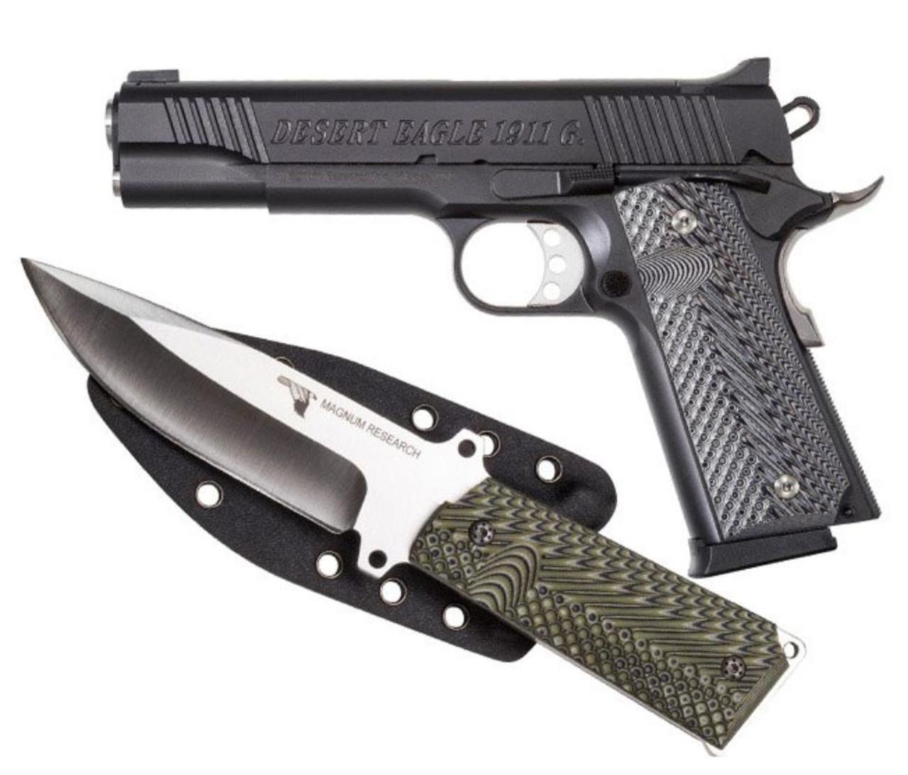 Desert Eagle 1911 Pistol/Knife Combo 45 ACP 5