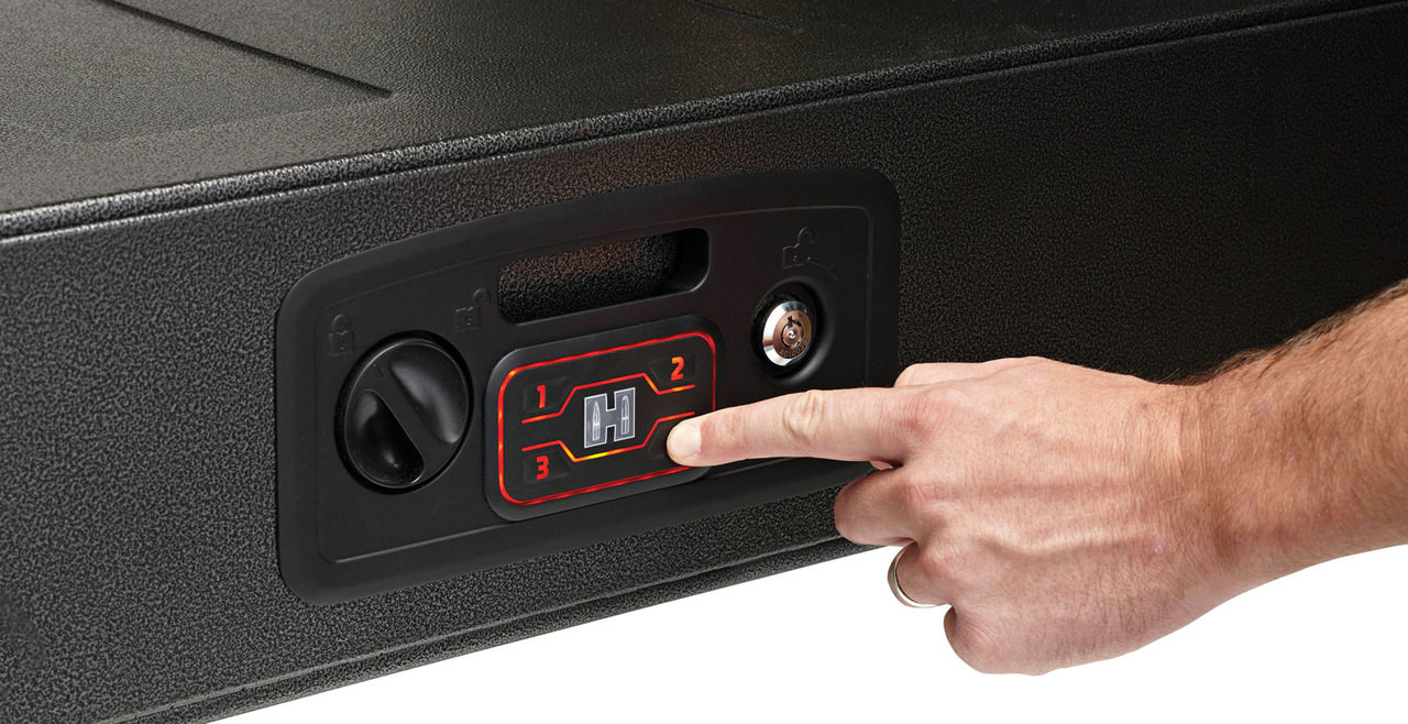 Hornady Rapid Gun Safe, AR, Black - Impact Guns