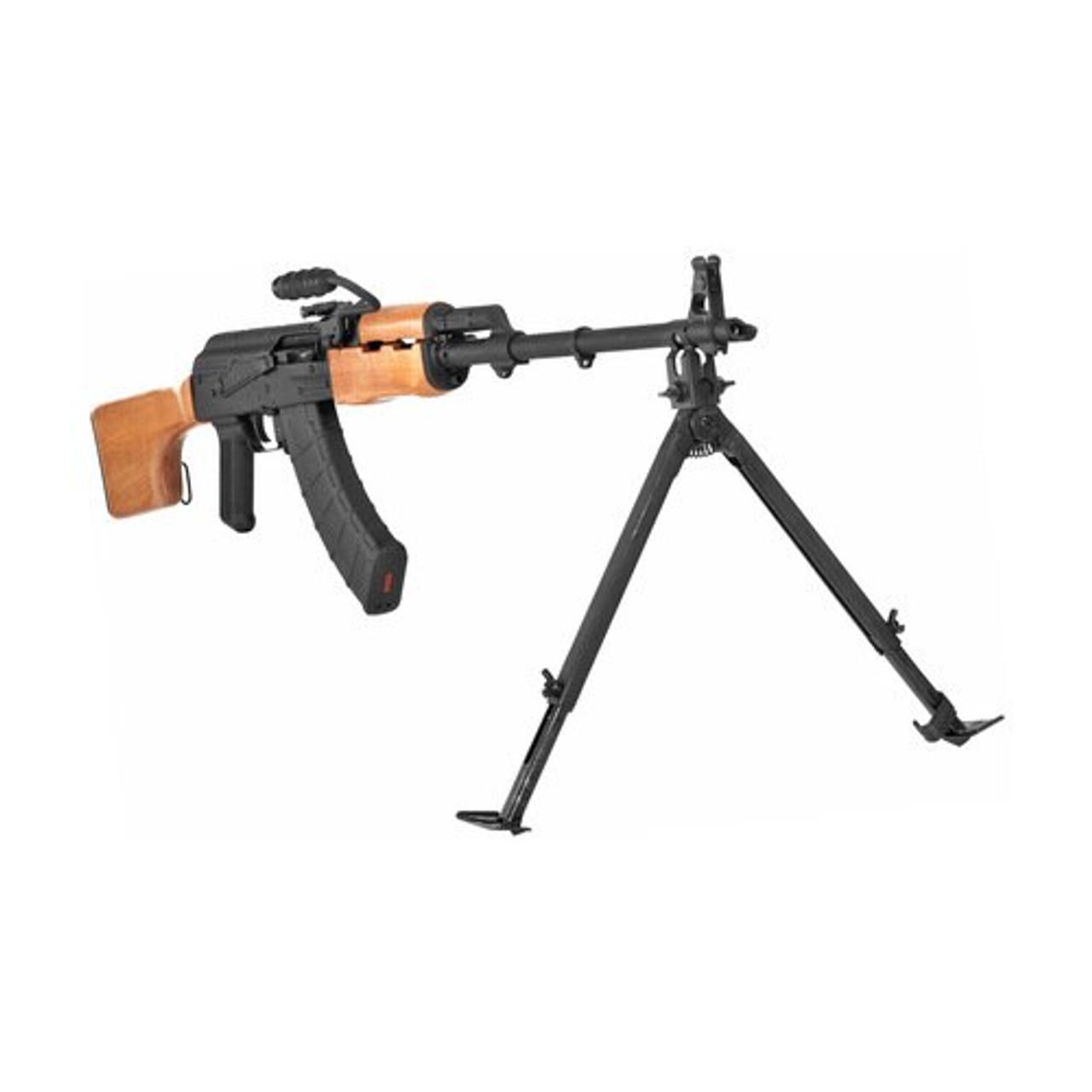"Aluminum Black 6/""-9/"" Compact SKS Bayonet Lug Mount Folding Adjustable Leg Bipod"