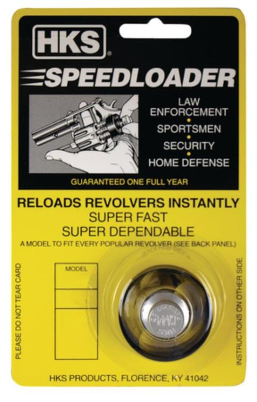 HKS 22-K SpeedLoader for S/&W K Frame 17 18 COLT Diamondback Dan Wesson 22 .22