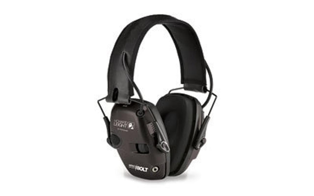 Deluxe Headband Impact Sport Howard Leight Black Electronic Earmuff